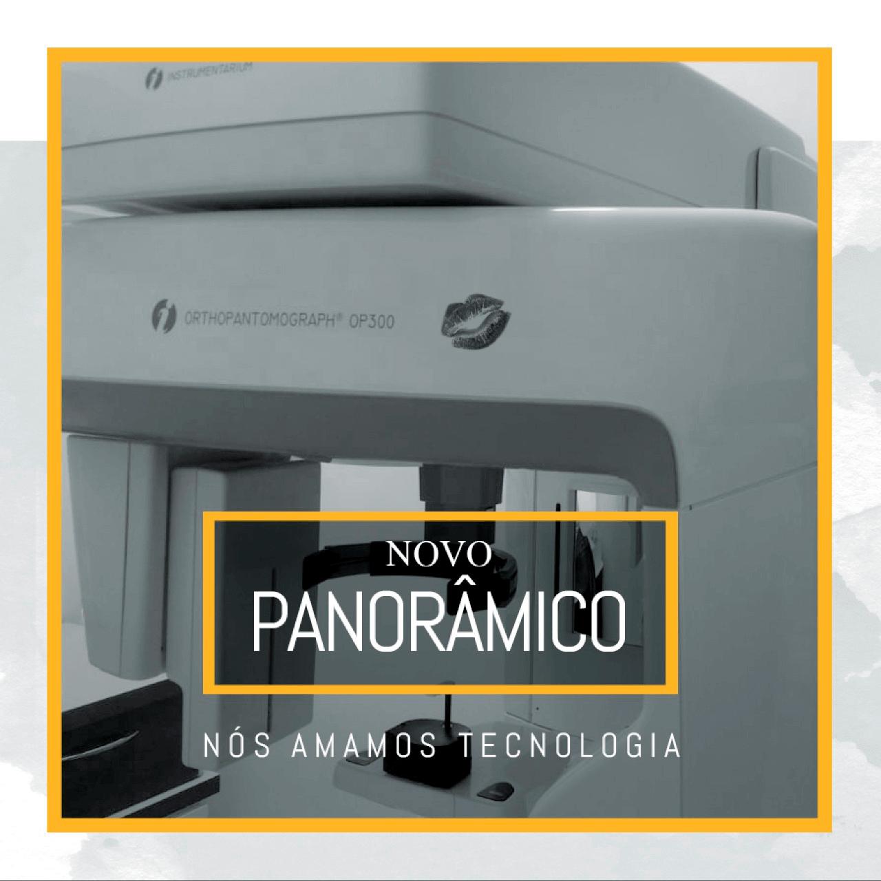 Conheça o nosso mais recente investimento em tecnologia: imagem digital panorâmica OP300® da KAVO